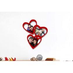 Marco de fotos corazones